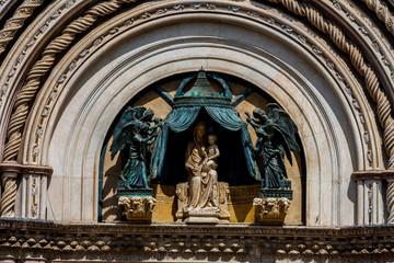 Dettaglio del duomo di Orvieto