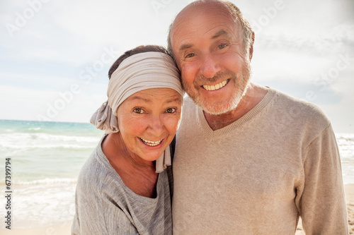 canvas print picture happy senior life