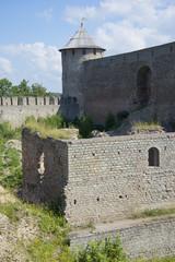 Летний день в Ивангородской крепости