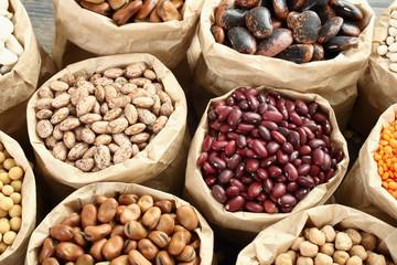 fagioli e semi misti