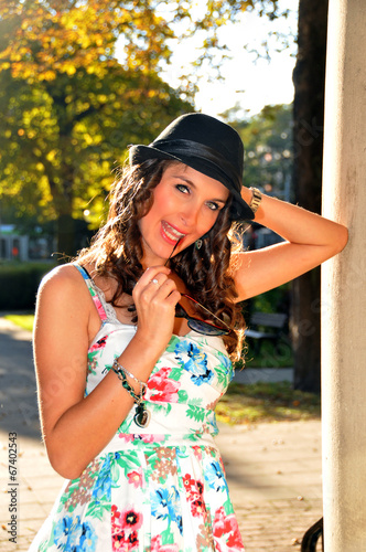 canvas print picture Sommer-Girl