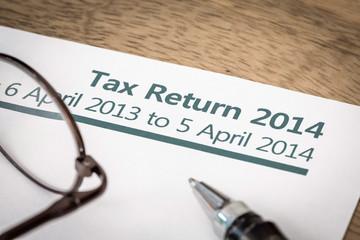 Tax return 2014