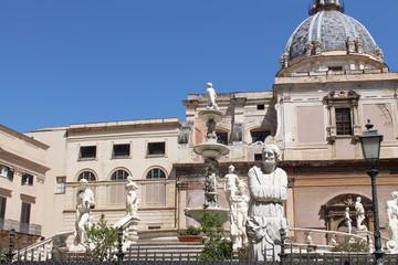 Piazza Pretoria (Square of shame), Palermo