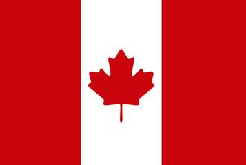 Canada flag. Vector