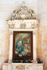 Lecce, antica edicola votiva