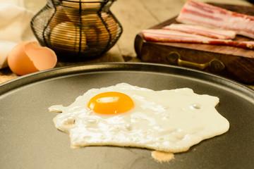 Uovo e pancetta