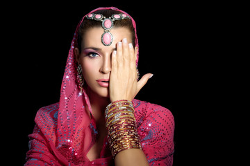 Beauty Ethnic Woman