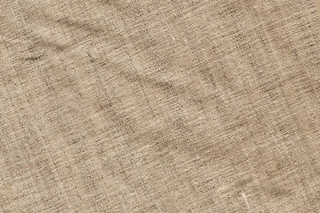 Linen Canvas Coarse Crumpled Grunge Texture Sample
