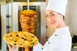 Kebab - heiße und frische türkische Pizza