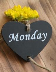 Einen guten Montag wünschen