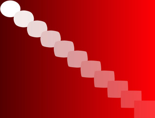 Abstract vector backgrounds. Red