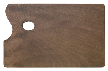 Wooden palette for painting