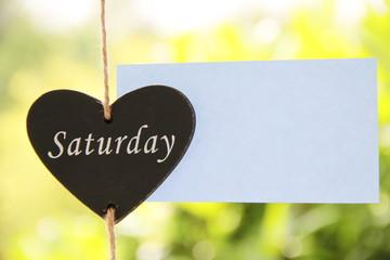 Sonnige Grüße zum Samstag