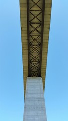 Under the big bridge