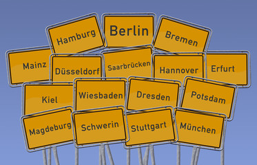 Landeshauptstädte Deutschlands