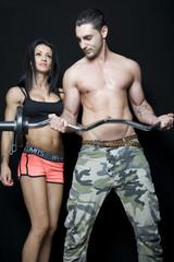 Fitness un coppia