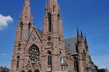 alsace, la pittoresque ville de Strasbourg dans le Bas Rhin
