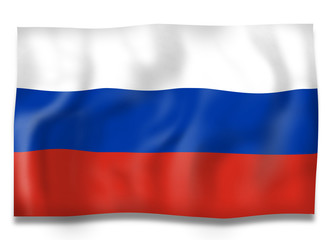 Russia Flag Design
