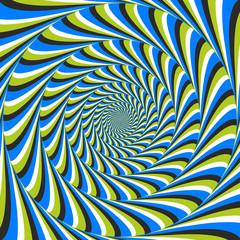 optical illusion swirl ccw