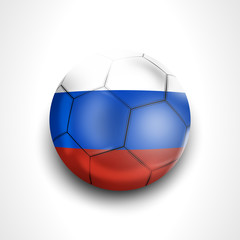 Russia Football Design