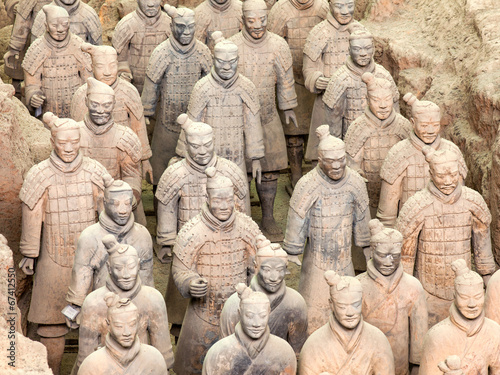 Canvas Xian Terracotta Army