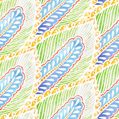 Seamless watercolor background pattern