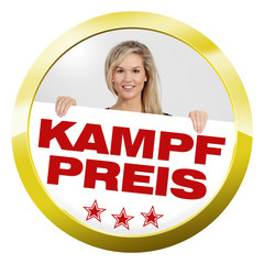 button girl kampfpreis