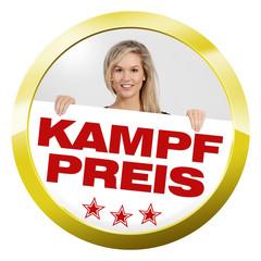 button girl kampfpreis