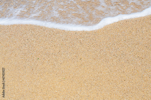 canvas print picture Sandstrand