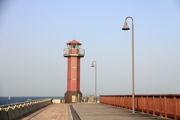 Lighthouse in Takamatsu, Japan