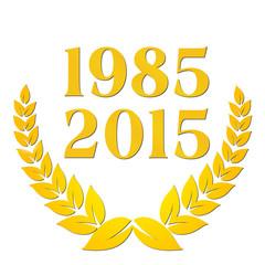 1985 2015 jubiläim 30 Jahre