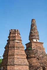 Stupa Ayutthaya of Thailand