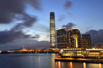 Nice night view, Hong Kong