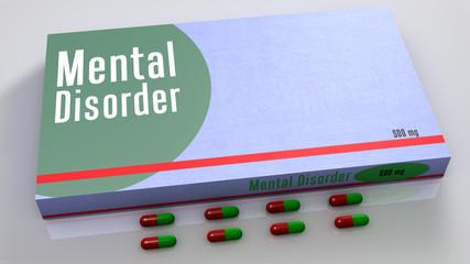 Mental disorder medicines