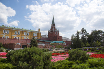 Кремль, Александровский сад, Москва