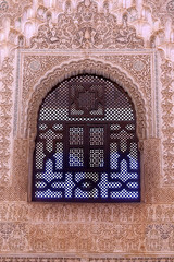 Alhambra Courtyard Moorish Wall Designs Window Granada Andalusia