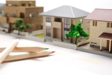 住宅街のイメージ