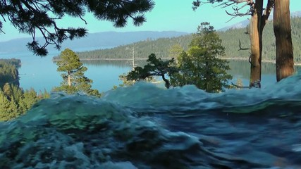 Eagle Falls Lake Tahoe Wasserfall waterfall USA