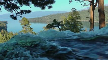 Eagle Falls Lake Tahoe Wasserfall waterfall USA