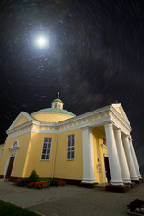 Church under the stars
