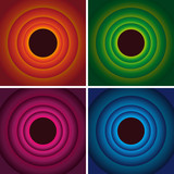 Colored circles background - 67421997