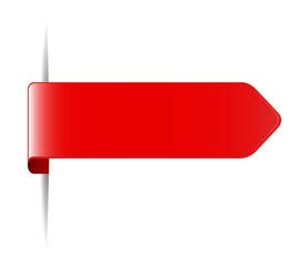 rotes lesezeichen