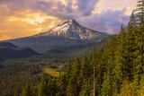 Beautiful Vista of Mount Hood in Oregon, USA. - 67422961