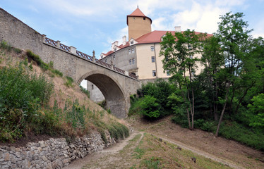 Old Castle Veveri, Moravia, Czech Republic, Europe