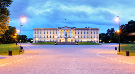 Oslo - Royal palace, Norway