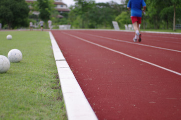 running track exercise