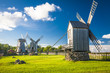 wooden windmill in Angla, Saaremaa island, Estonia - 67426708