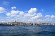 beautiful landscape of Istanbul and the Bosporus
