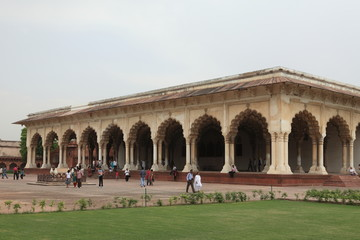 Das Rote Fort in Agra Indien
