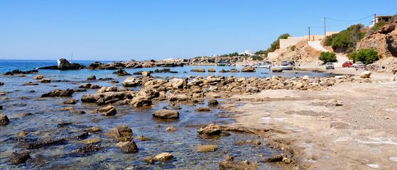 coast of the island of Crete, Greece, Europe